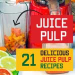 leftover juice pulp recipes