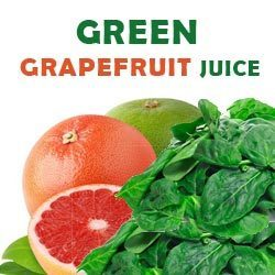 green grapefruit juice