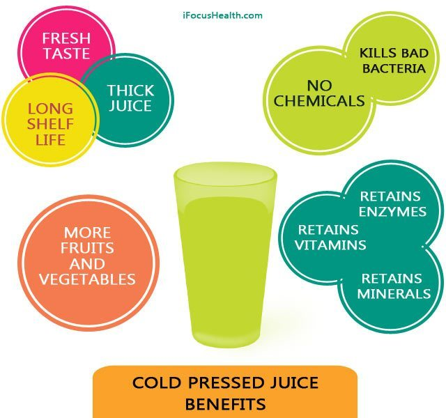 cold pressed juice benefits