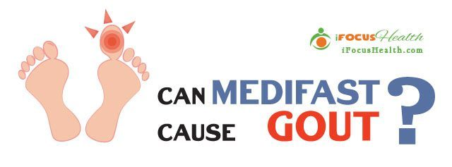 can medifast cause gout