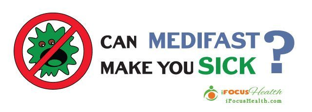 can medifast make you sick