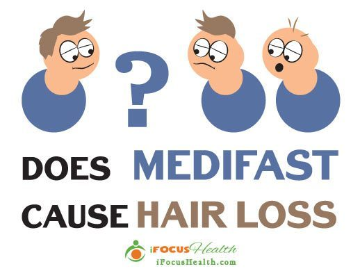 can medifast cause hair loss
