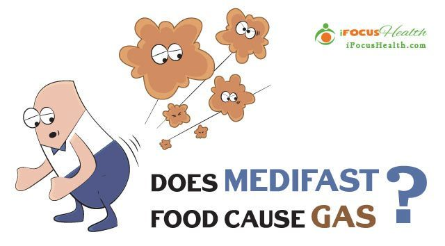 does medifast food cause gas