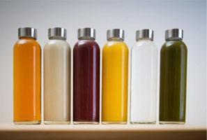 juicing bottles set