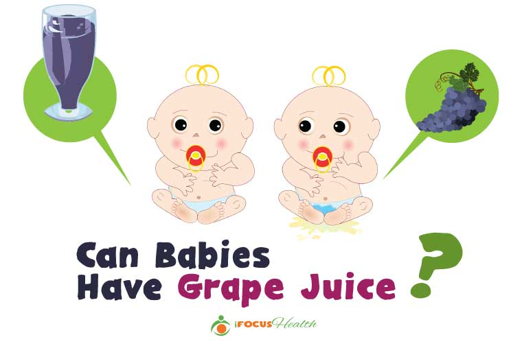 grape juice for babies