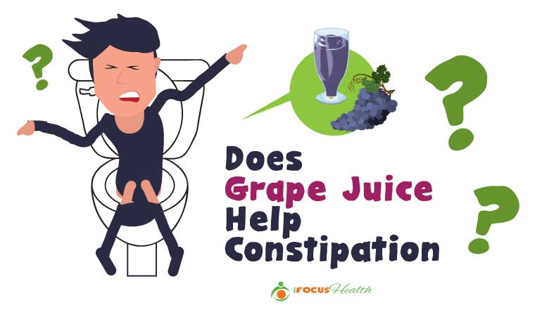 grape juice for constipation