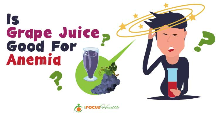 grape juice for anemia