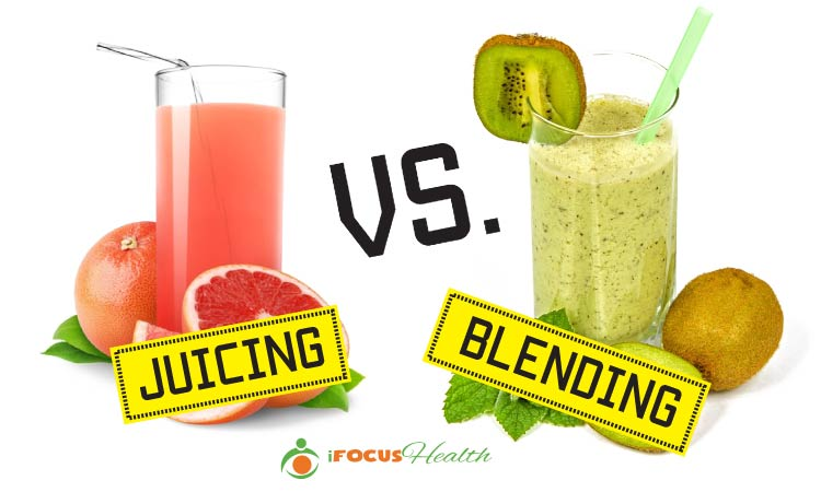 pros and cons of juicing vs blending