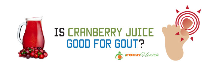 is cranberry juice good for gout