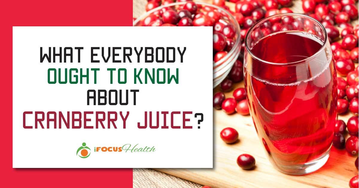 UTI – Cranberry Juice