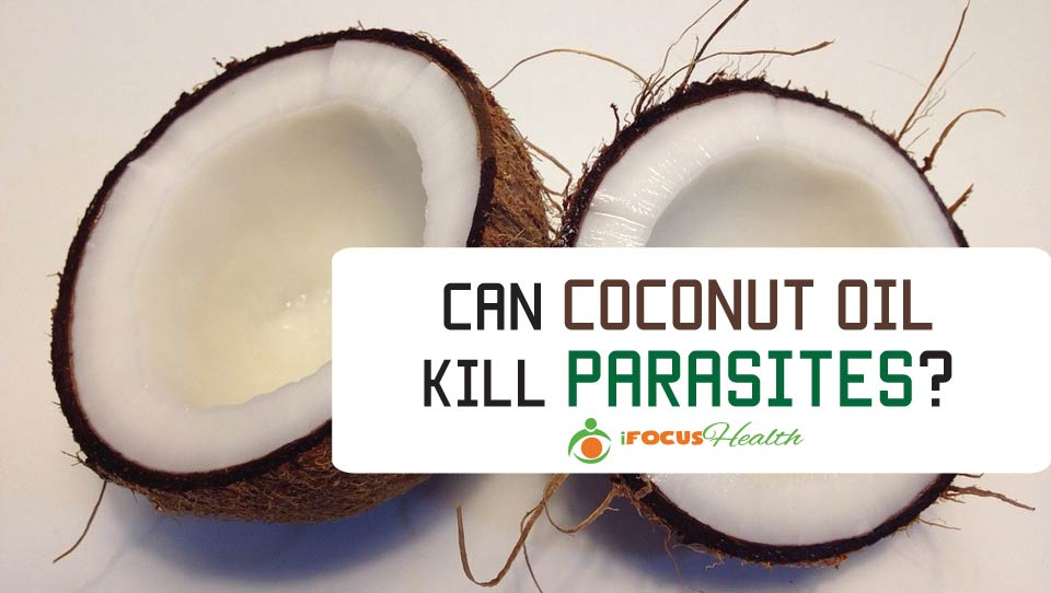 does coconut oil kill parasites