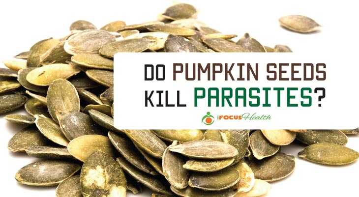 does pumpkin seeds kill parasites