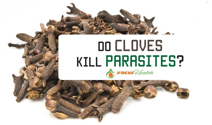 do cloves kill parasites