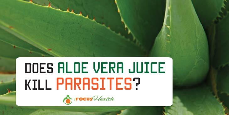 does aloe vera juice kill parasites