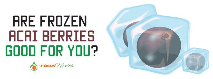 frozen acai berries