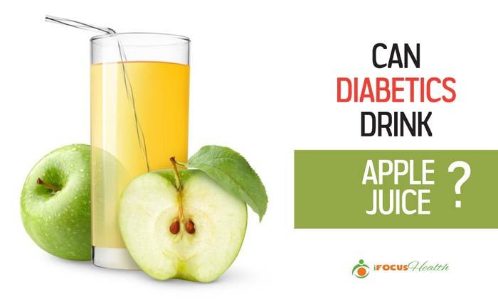 can diabetics drink apple juice
