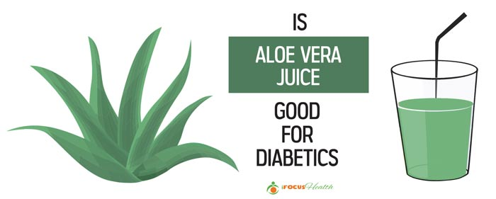 is drinking aloe vera juice good for diabetics