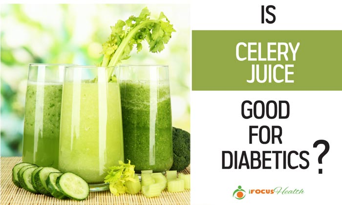 is celery juice good for diabetics
