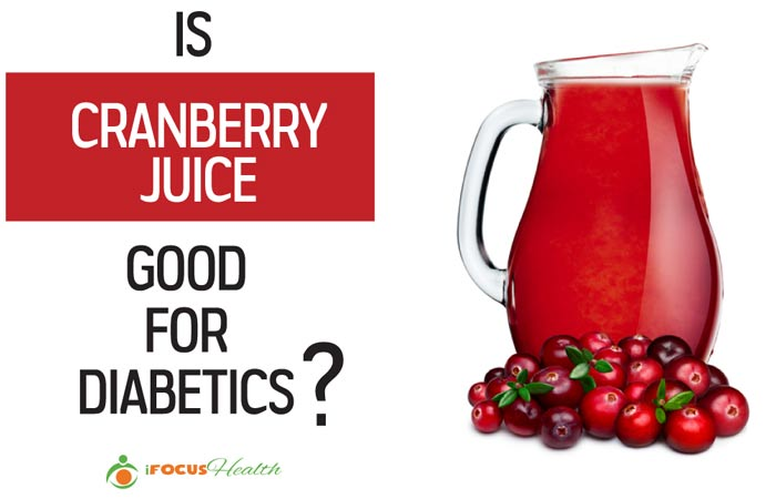 is cranberry juice good for diabetics