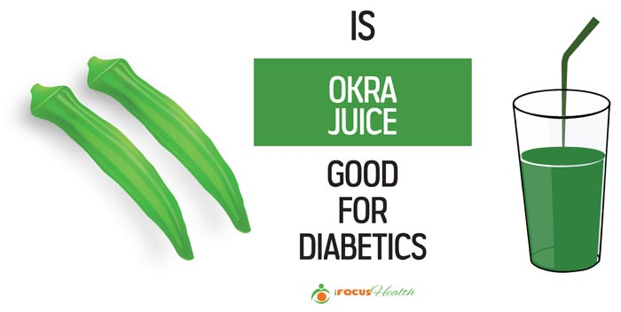 is okra juice good for diabetics