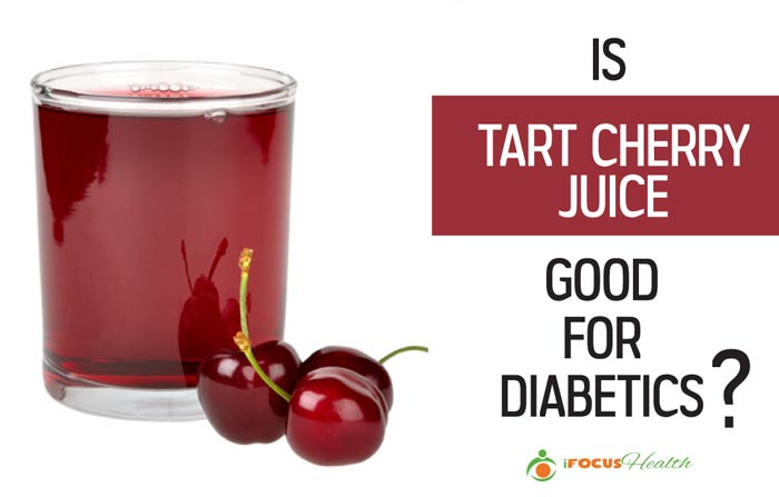 is tart cherry juice good for diabetics