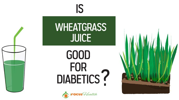 is wheatgrass juice good for diabetics