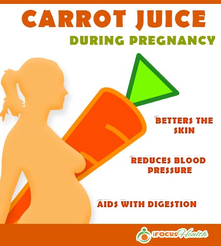 carrot juice benefits during pregnancy