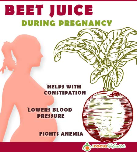 beetroot juice benefits during pregnancy