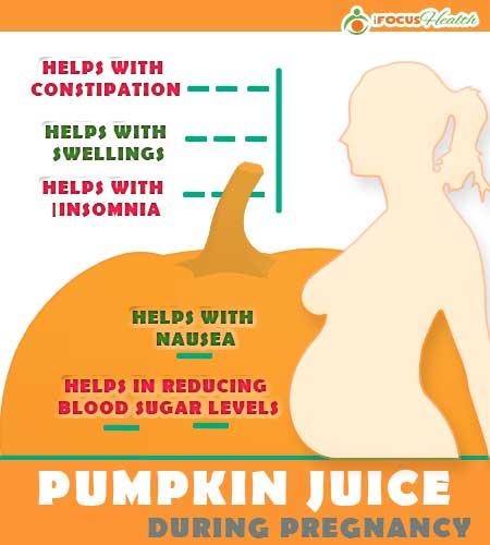 pumpkin juice benefits during pregnancy
