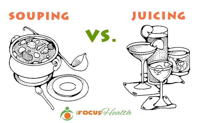 souping vs juicing