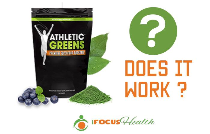 athletic greens does it work