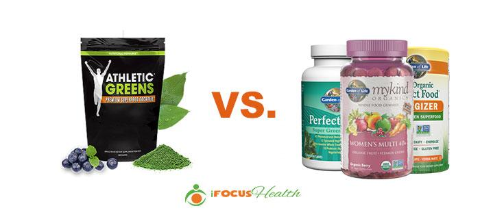 athletic greens vs garden of life