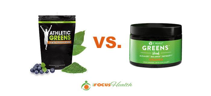 athletic greens vs itworks greens