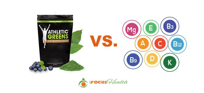 athletic greens vs multivitamin