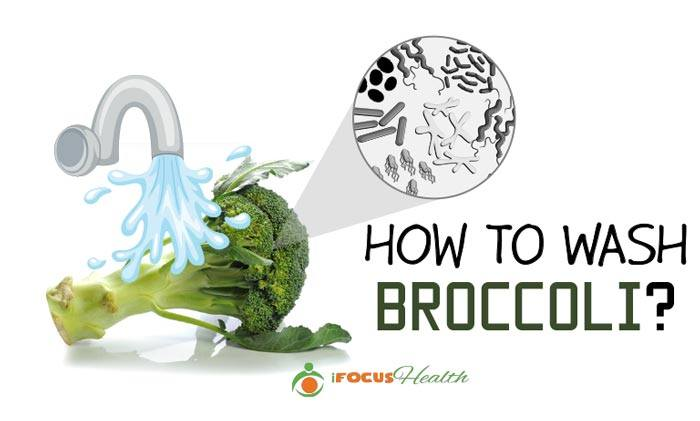 how to wash broccoli