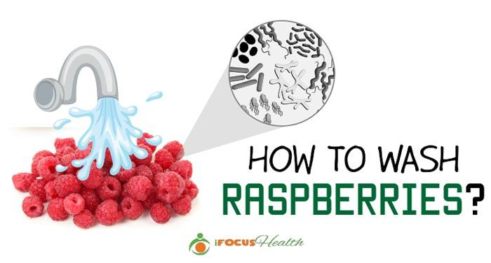 how to wash raspberries