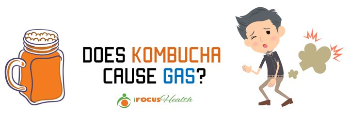 kombucha for gas relief