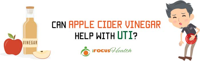 apple cider vinegar cure uti