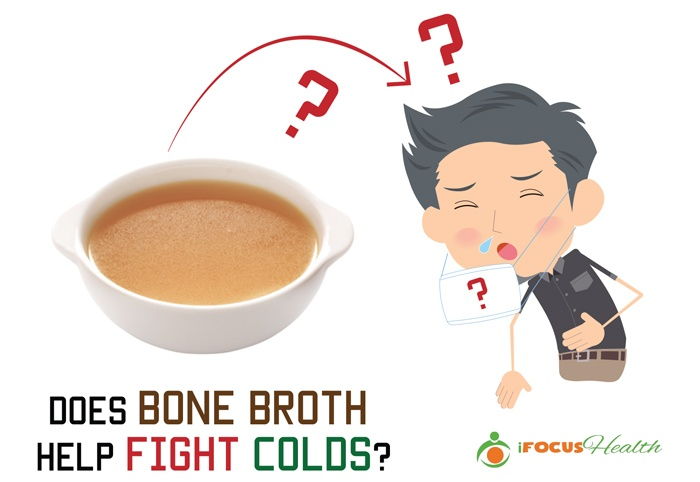 bone broth for colds and immune system